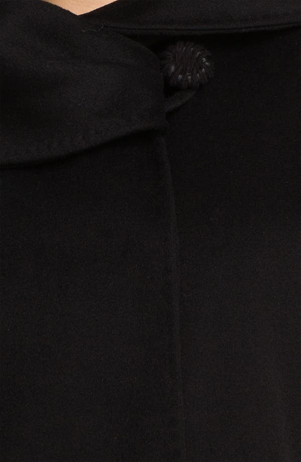 Alternate Image 3  - Cinzia Rocca Asymmetrical Collar Wool Coat (Plus)