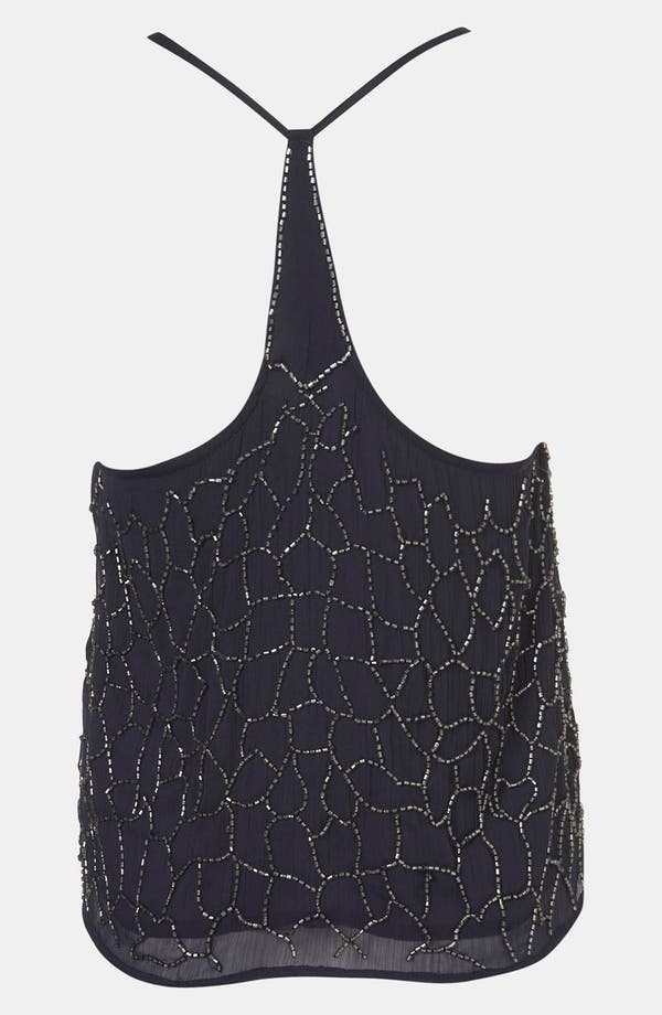 Alternate Image 2  - Topshop 'Web' Embellished Camisole