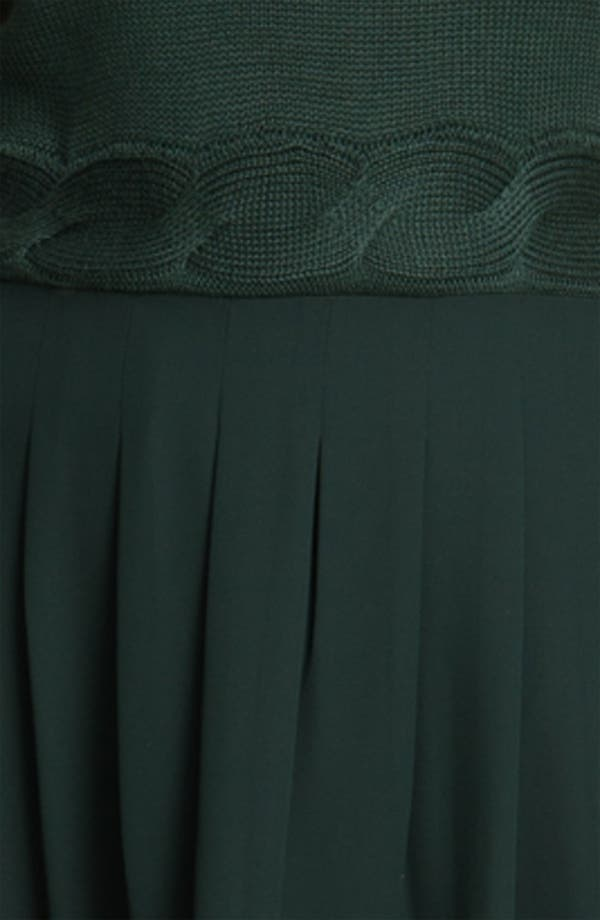 Alternate Image 3  - Jessica Simpson Mock Two Piece Asymmetrical Dress (Plus)