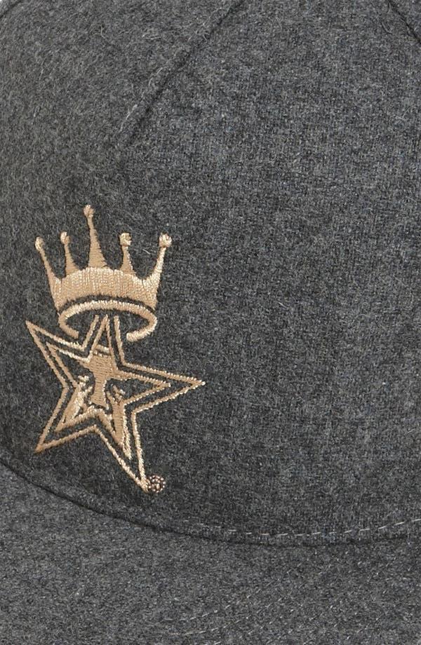 Alternate Image 2  - Obey 'Crowned' Snapback Baseball Cap