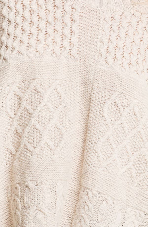 Alternate Image 3  - MARC BY MARC JACOBS 'Glenda' Cable Knit Sweater