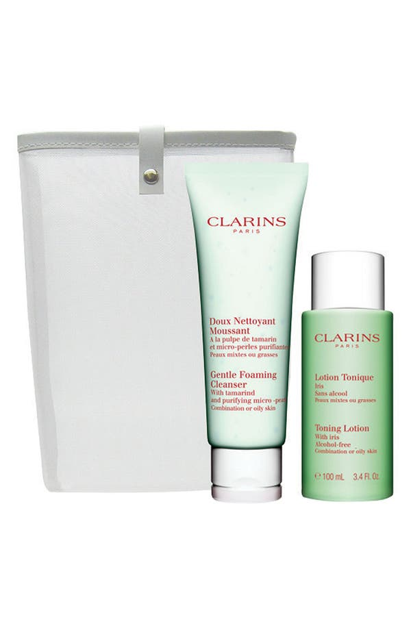 Alternate Image 1 Selected - Clarins Cleansing Duo (Oily) ($31 Value)