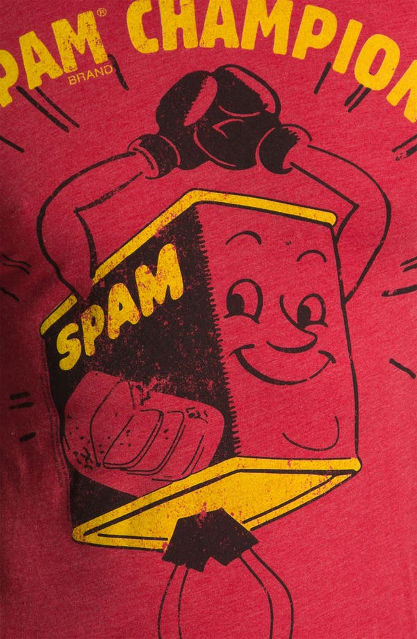 Alternate Image 3  - Free Authority 'SPAM Champion' Graphic T-Shirt