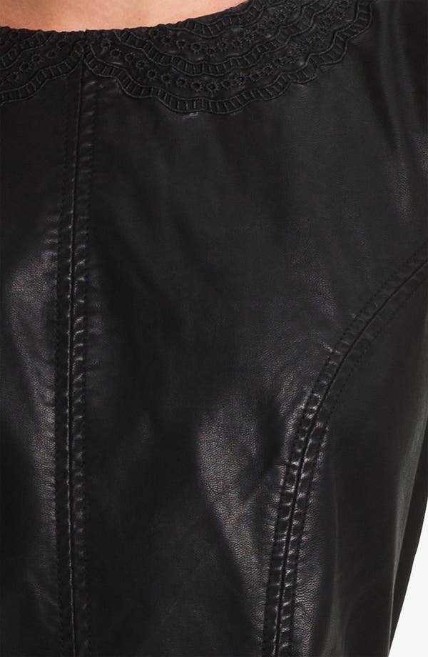 Alternate Image 3  - Free People Faux Leather Dress