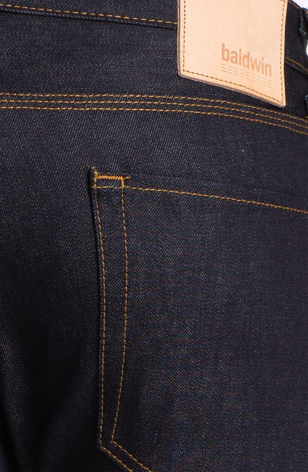 Alternate Image 4  - Baldwin 'Reed' Straight Leg Jeans (Dry)