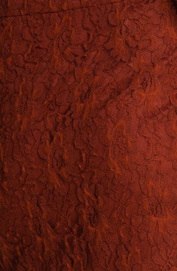 Alternate Image 3  - Kensie 'Fuzzy Lace' Skirt (Online Exclusive)