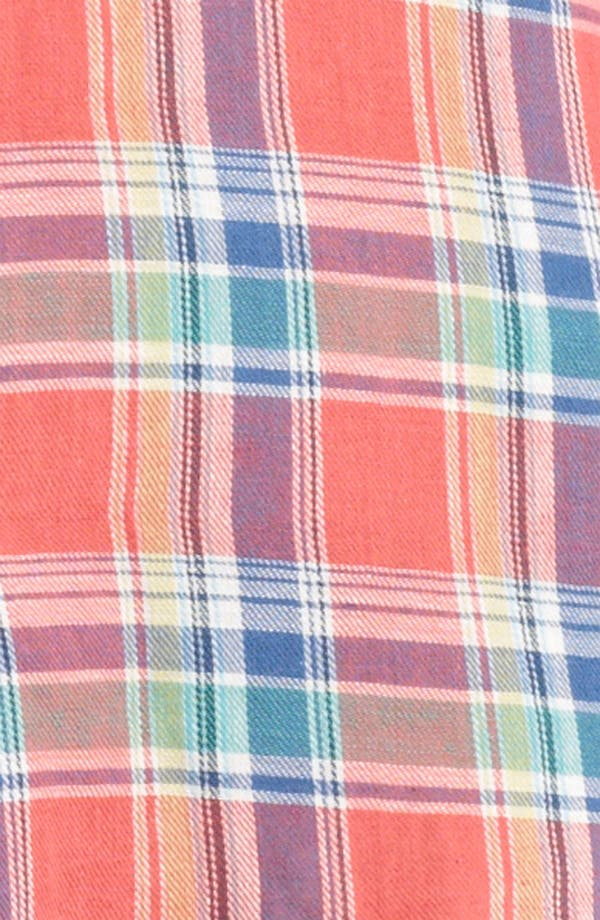 Alternate Image 3  - Band of Outsiders Madras Plaid Shirt