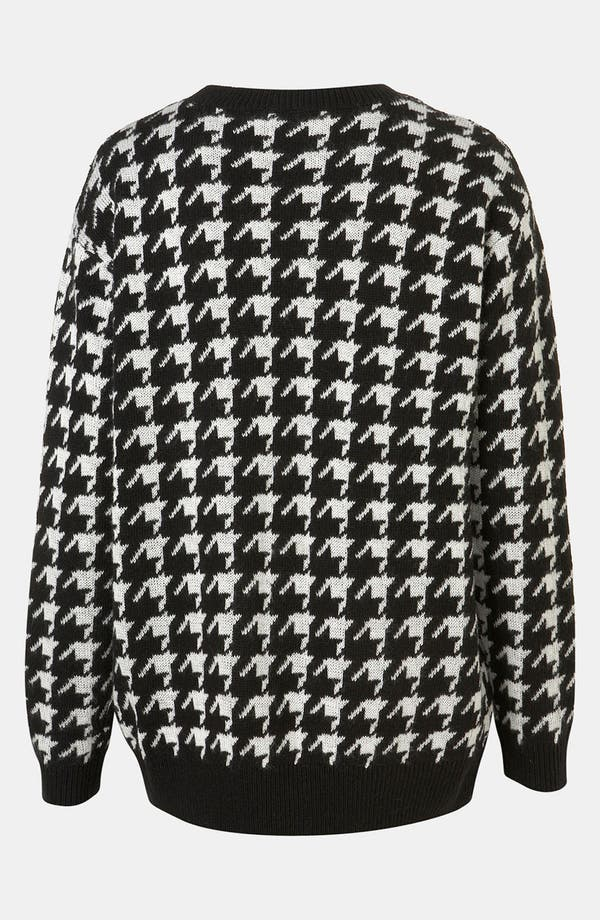 Alternate Image 2  - Topshop 'Houndstooth' Sweater