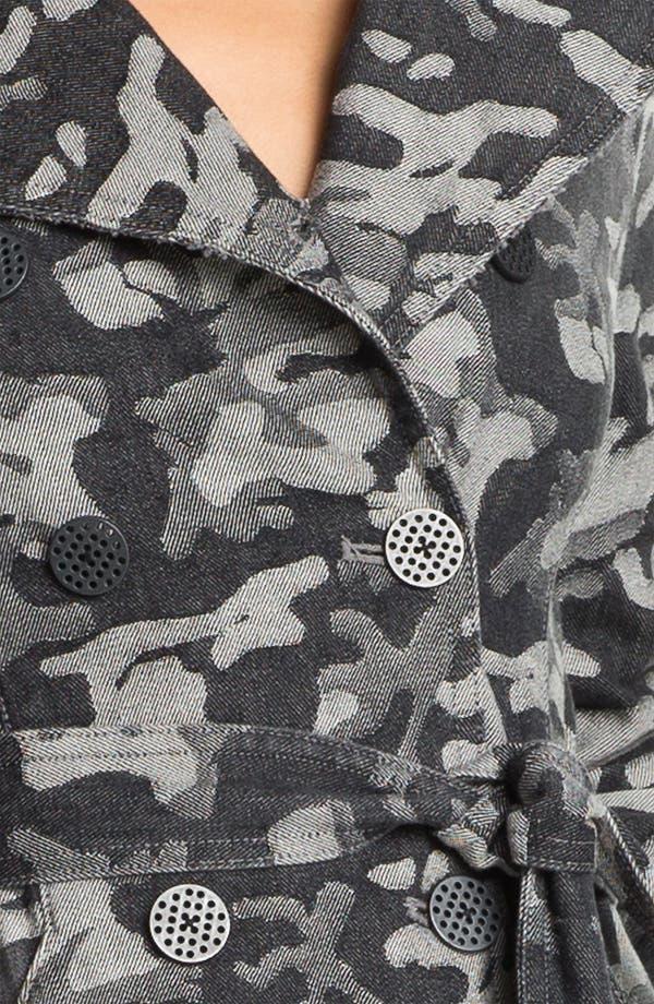 Alternate Image 3  - Kelly Wearstler 'Chameleon' Camo Print Trench Coat