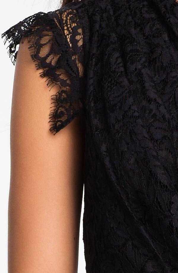Alternate Image 3  - Shoshanna 'Verona' One Shoulder Lace Dress