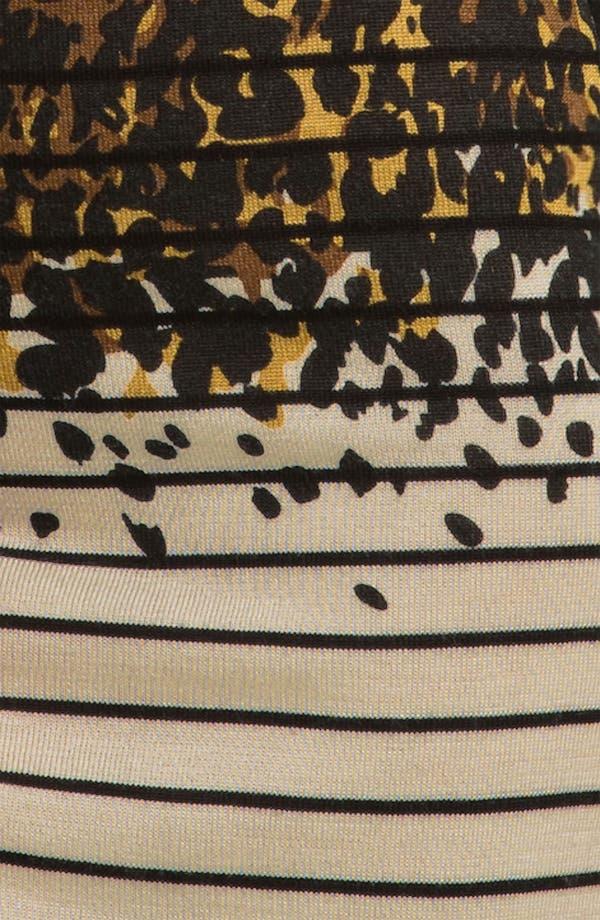 Alternate Image 3  - Tahari Multi Print Long Sleeve Sweater Dress