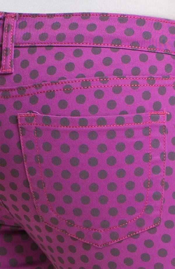 Alternate Image 3  - KUT from the Kloth 'Diana' Polka Dot Skinny Jeans