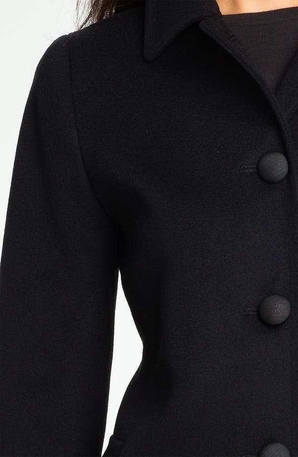 Alternate Image 3  - Fleurette Loro Piana Wool Walking Coat