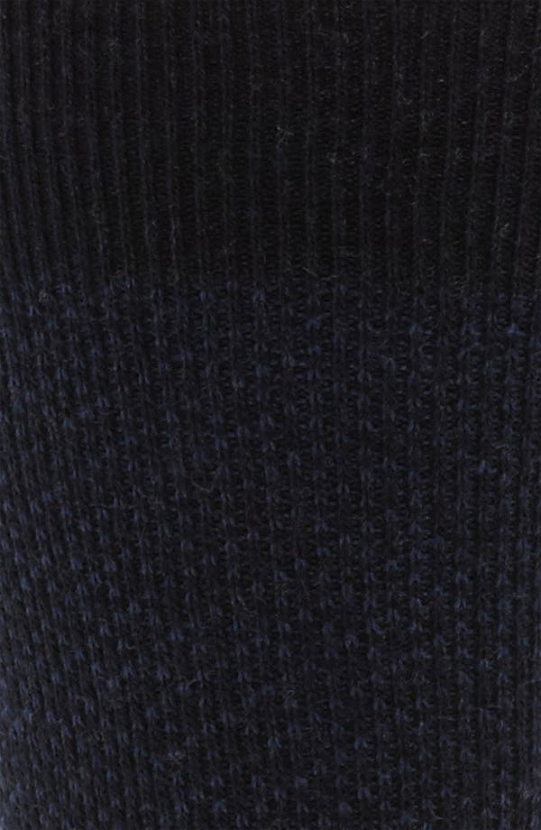 Alternate Image 2  - David Donahue Wool Blend Socks