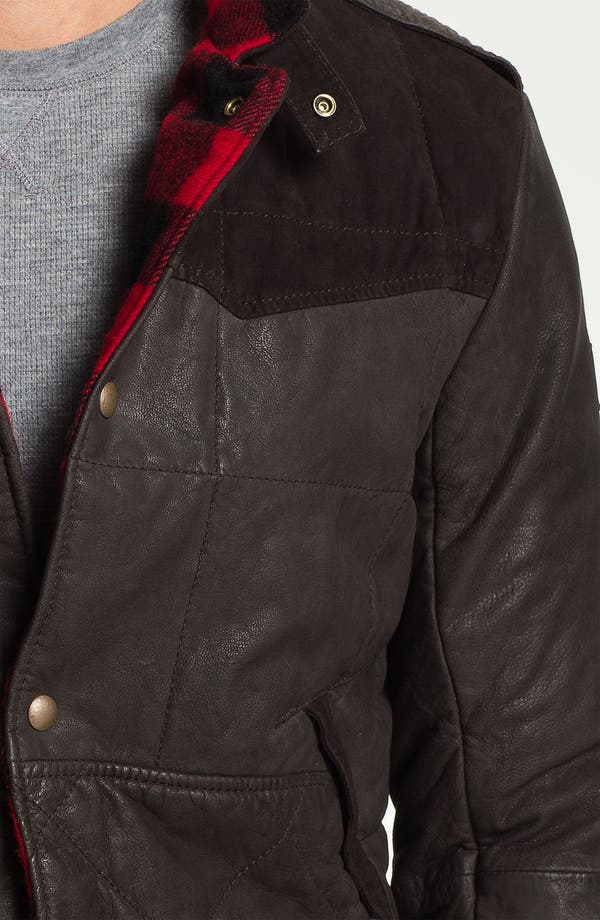 Alternate Image 3  - BOSS Orange 'Jearne' Quilted Leather Jacket