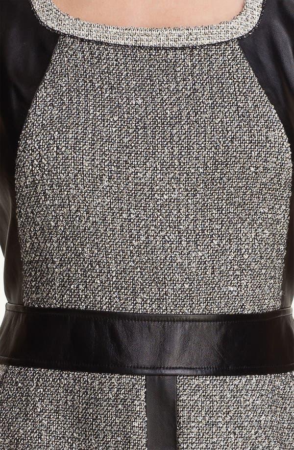 Alternate Image 3  - Lafayette 148 New York 'Seema' Mix Media Dress
