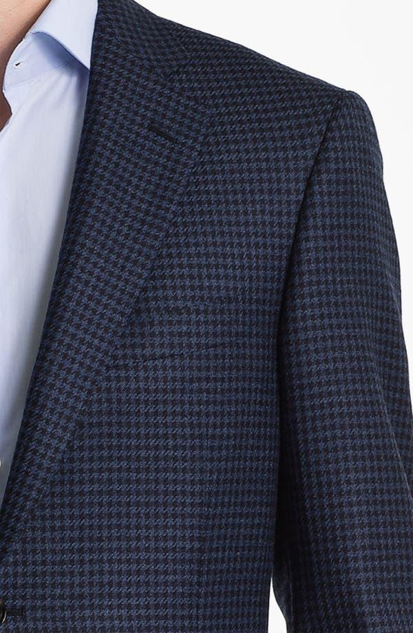 Alternate Image 3  - Pal Zileri Trim Fit Houndstooth Sportcoat