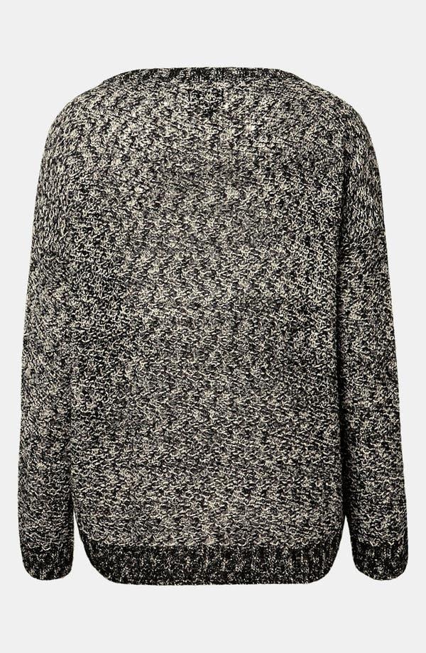 Alternate Image 2  - Topshop Boxy Tweed Knit Sweater