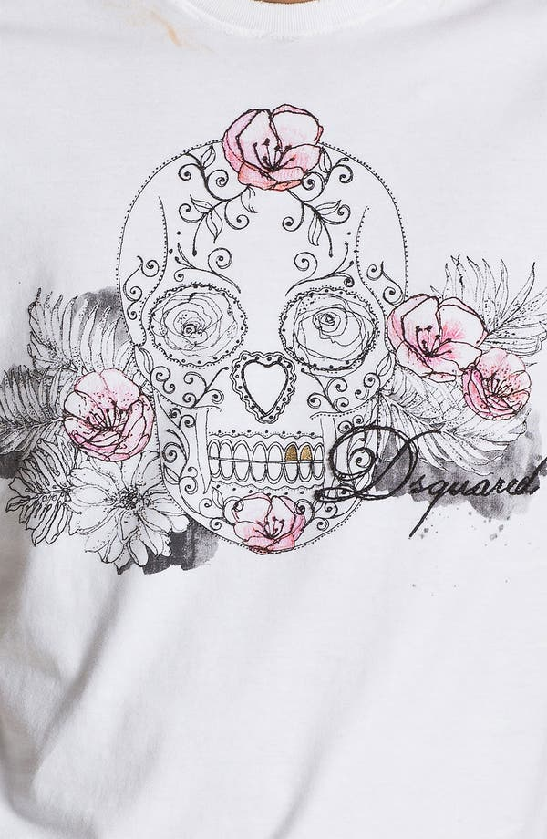 Alternate Image 3  - Dsquared2 'Skull' Graphic T-Shirt