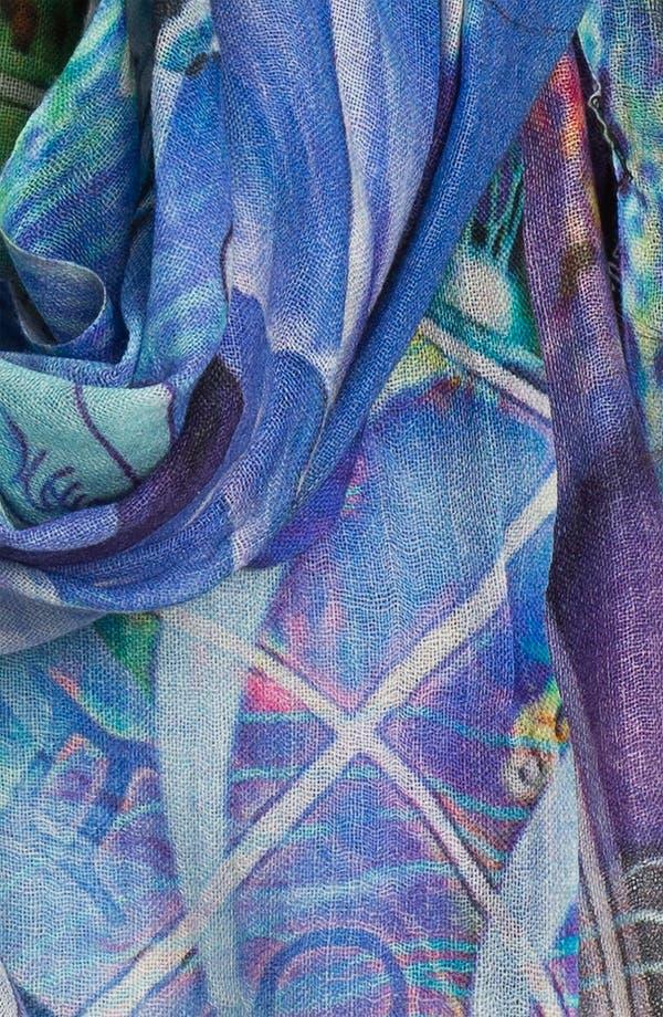 Alternate Image 2  - Shawlux 'Pisces' Cashmere & Silk Scarf