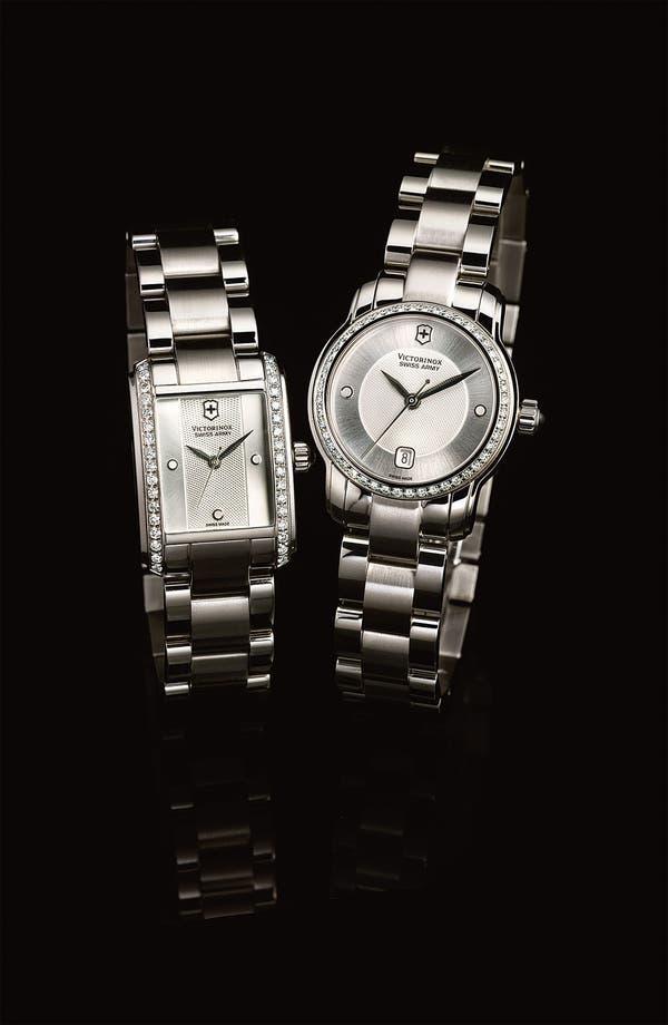 Alternate Image 2  - Victorinox Swiss Army® 'Vivante' Round Diamond Case Bracelet Watch, 28mm