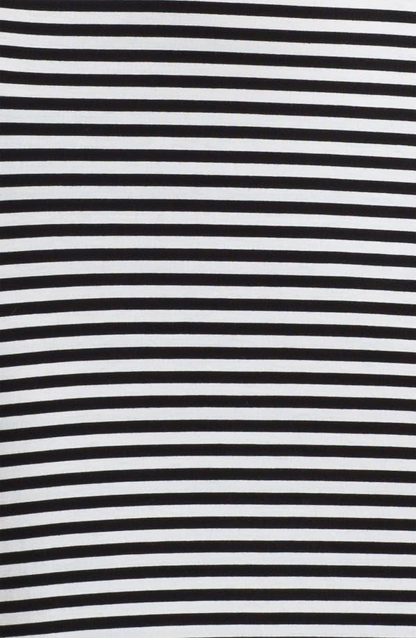 Alternate Image 3  - MICHAEL Michael Kors Stripe Crewneck Maxi Dress