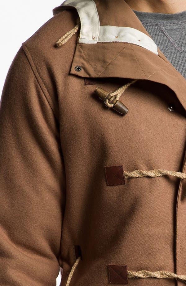Alternate Image 3  - Marshall Artist Wool Blend Duffle Coat