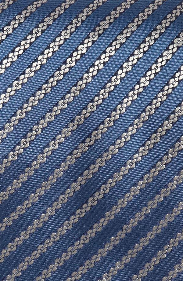Alternate Image 2  - Yves Saint Laurent Stripe Pattern Woven Silk Tie