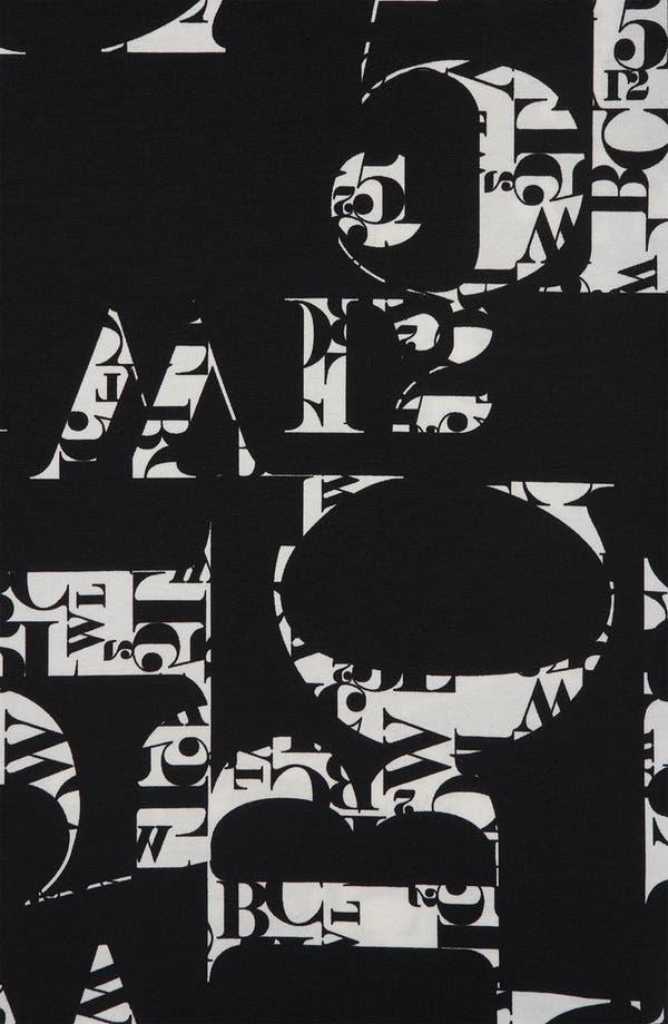 Alternate Image 3  - Topshop 'Clutter Font' Print Dress