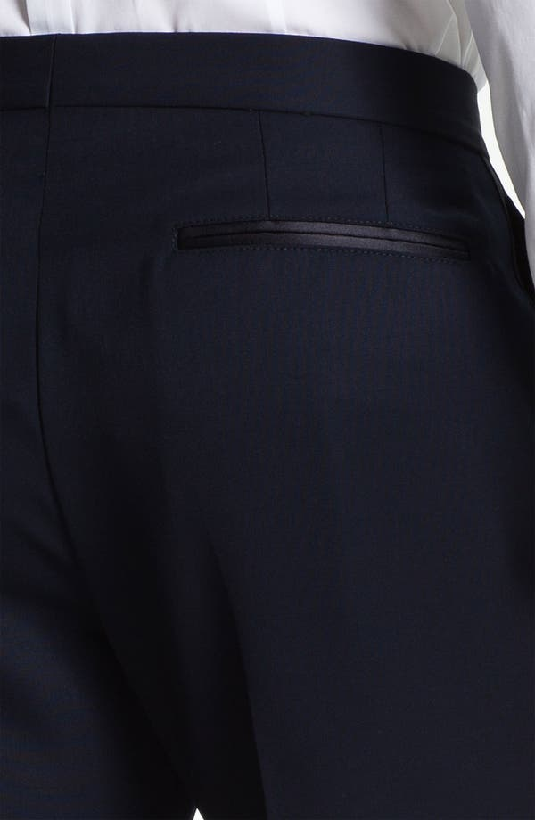 Alternate Image 3  - Burberry Prorsum Wool Tuxedo Pants