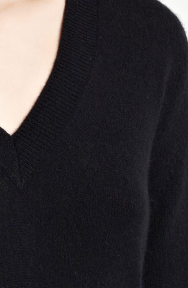 Alternate Image 3  - Burberry London V-Neck Cashmere Sweater