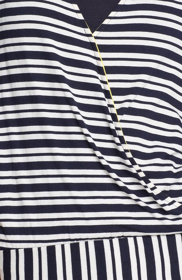 Alternate Image 3  - Ella Moss Stripe Surplice Dolman Top