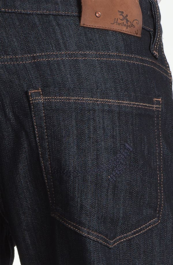 Alternate Image 4  - 34 Heritage 'Confidence' Relaxed Leg Jeans (Rinse Mercerized) (Online Only)