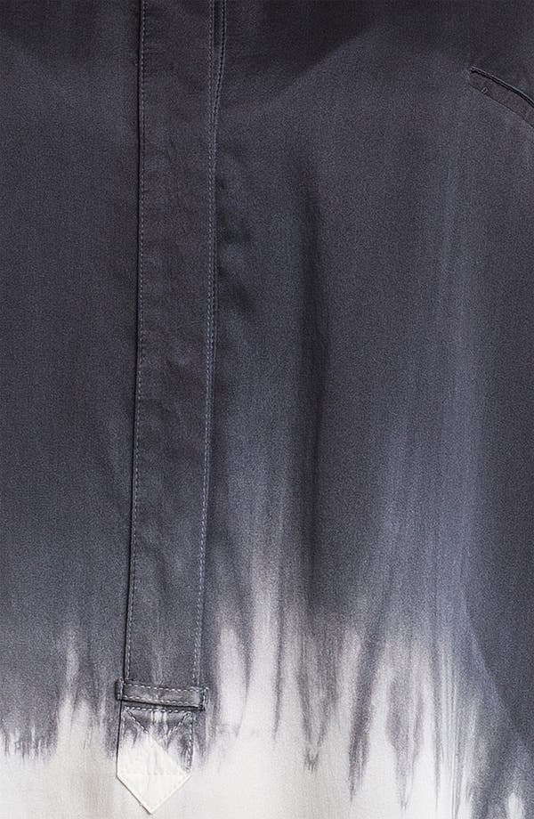 Alternate Image 3  - Go by Go Silk 'Go Luxe' Dip Dye Silk Henley Top (Online Exclusive)
