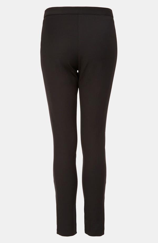 Alternate Image 2  - Topshop Colorblock Skinny Pants