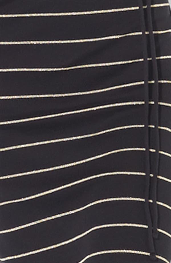 Alternate Image 3  - Lauren Ralph Lauren Bateau Neck Stripe Dress (Petite)