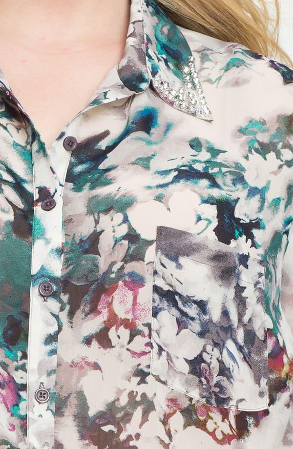 Alternate Image 3  - Bellatrix Beaded Collar Blouse (Plus)