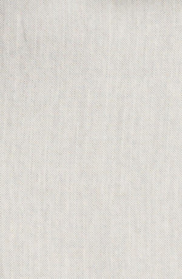Alternate Image 5  - Lida Baday Contrast Sleeve Raffia Peplum Jacket