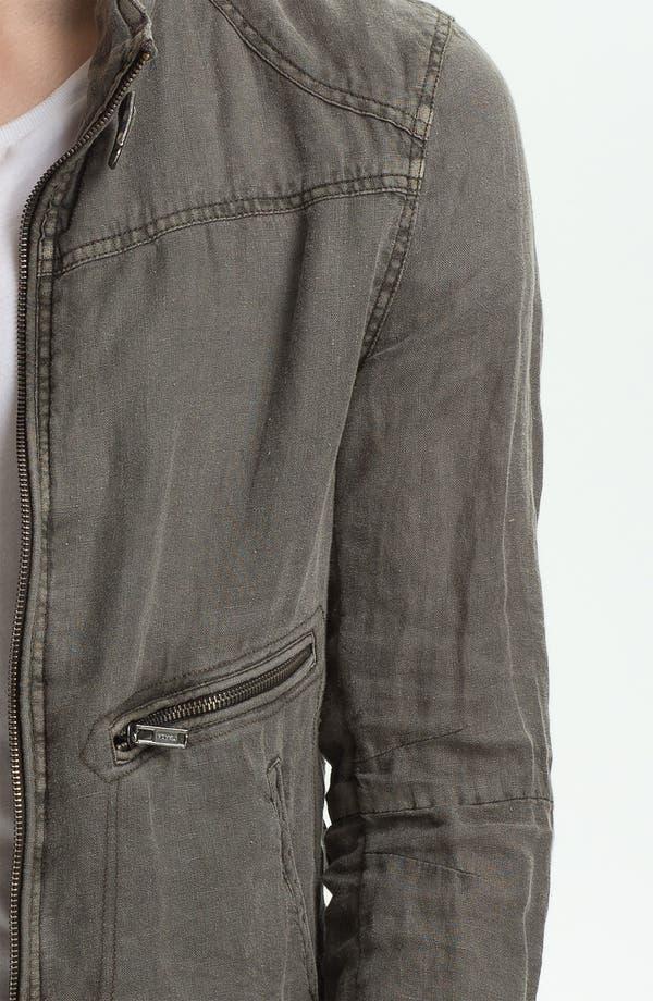 Alternate Image 3  - Rogue Linen Moto Jacket