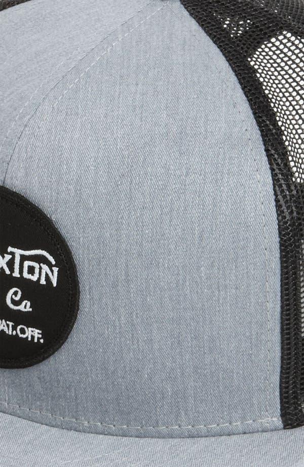 Alternate Image 2  - Brixton 'Wheeler' Trucker Hat