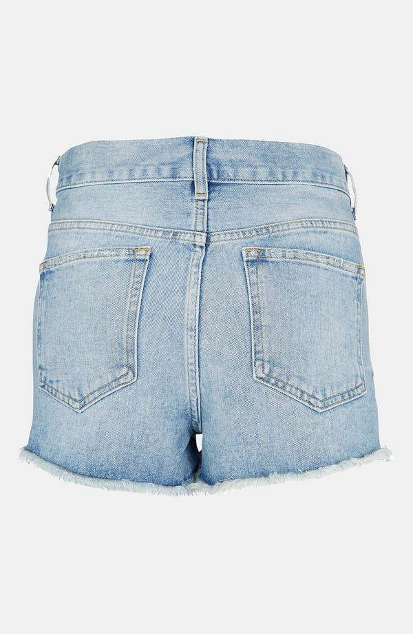 Alternate Image 2  - Topshop Moto 'Ruthie' Cutoff Denim Shorts