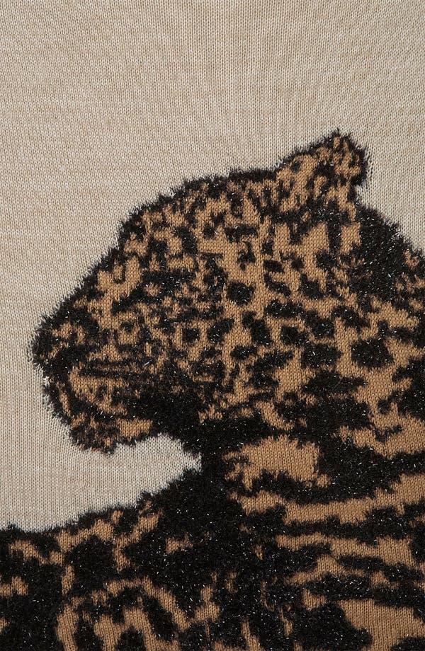 Alternate Image 3  - Topshop 'Sparkle Leopard' Sweater