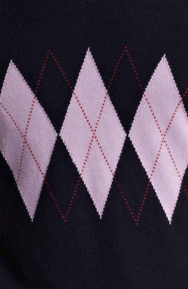 Alternate Image 3  - Pringle of Scotland Argyle V-Neck Sweater