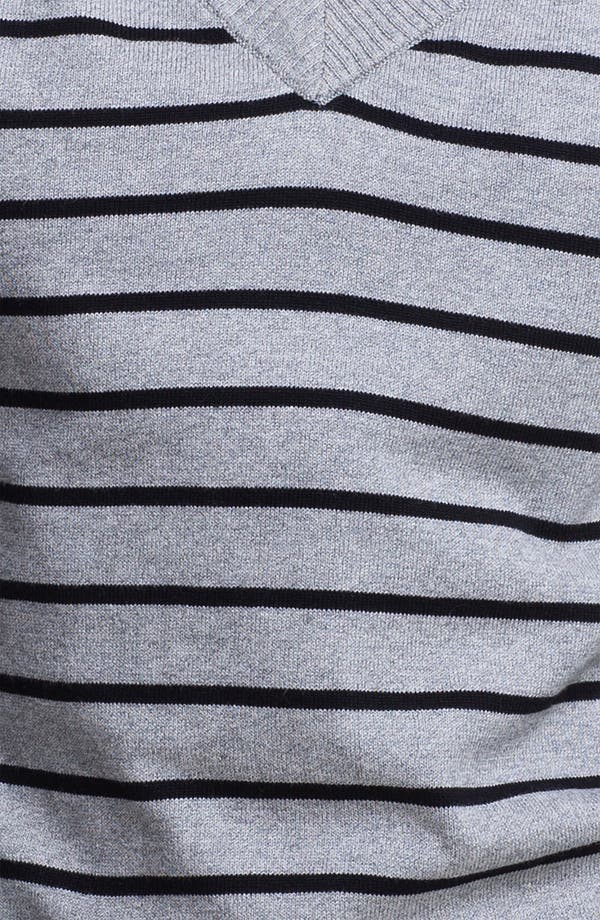 Alternate Image 3  - Two by Vince Camuto Stripe V-Neck Sweater