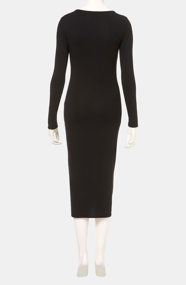 Alternate Image 2  - Topshop Body-Con Midi Dress