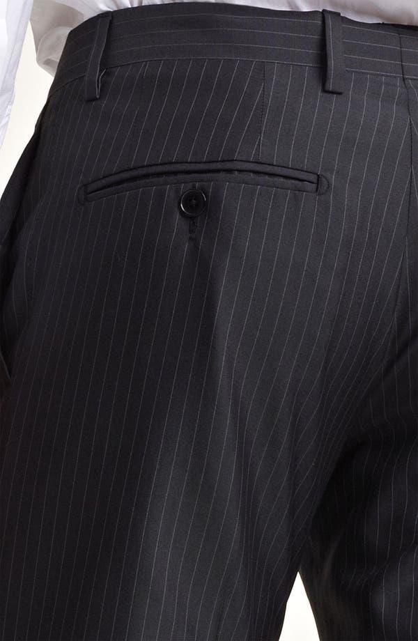Alternate Image 7  - Dolce&Gabbana Pinstripe Wool & Silk Suit