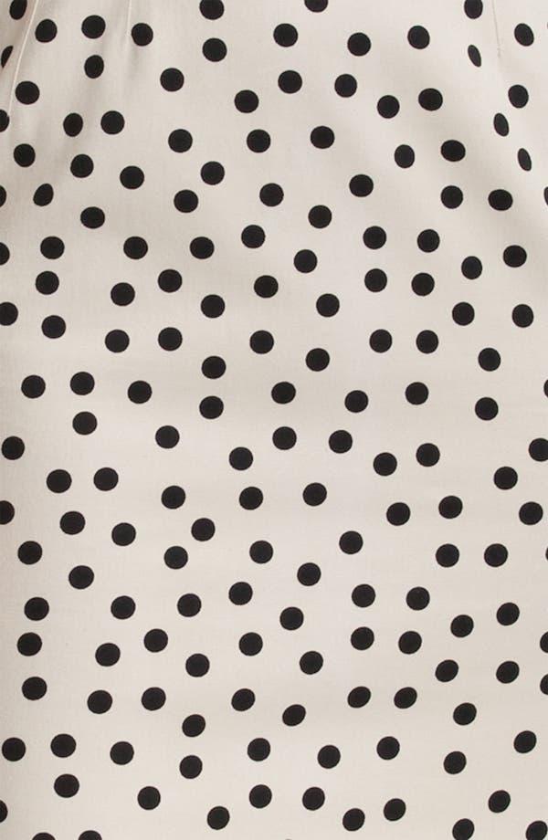 Alternate Image 3  - Dolce&Gabbana Polka Dot Stretch Cotton Dress
