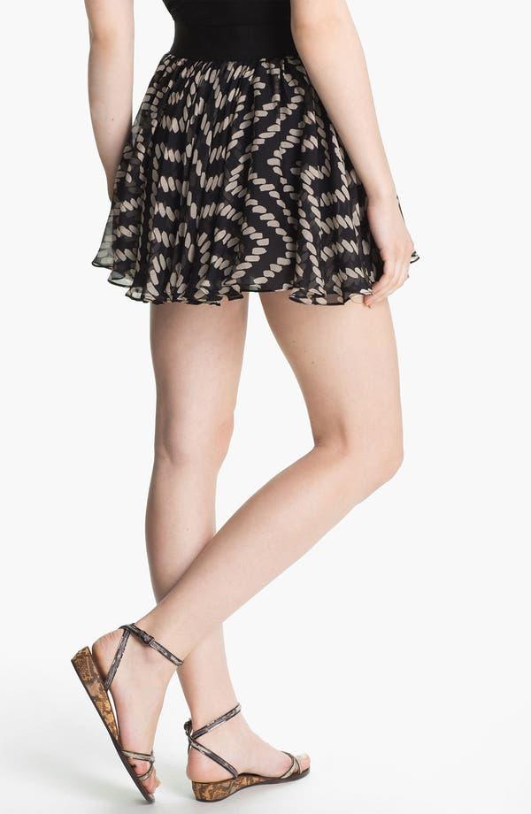 Alternate Image 2  - Milly Silk Circle Miniskirt