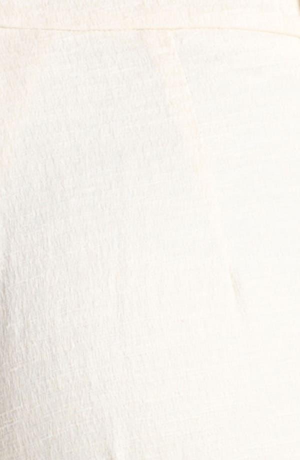 Alternate Image 3  - Oscar de la Renta Skinny Textured Crop Pants