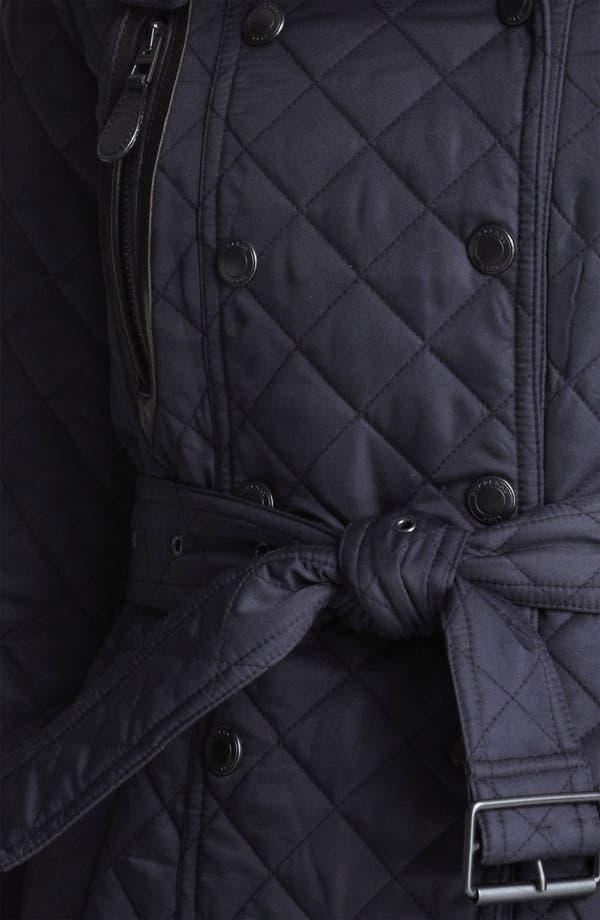 Alternate Image 3  - Burberry Brit 'Wiltford' Quilted Coat